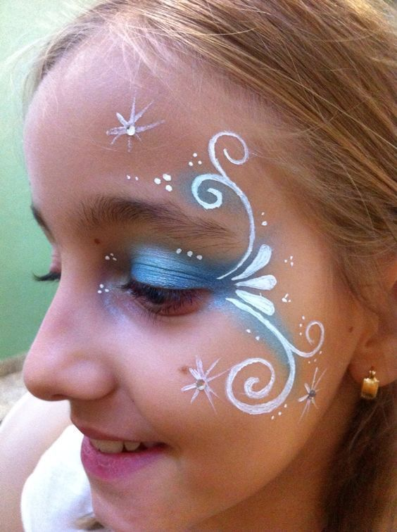 Photo of Examples of face painting child; simple ideas for beginners. Like prince …