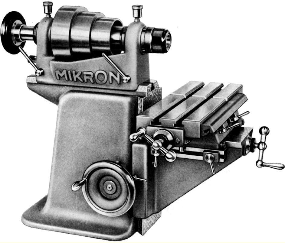 Mikron milling machine