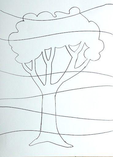 Idee per dipinti a colori caldi e freddi logica for Disegni a colori caldi