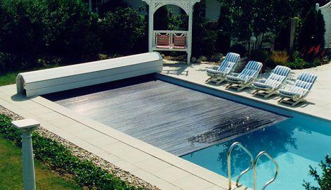 Schwimmbadabdeckung - Poolabdeckung Häuser Pinterest
