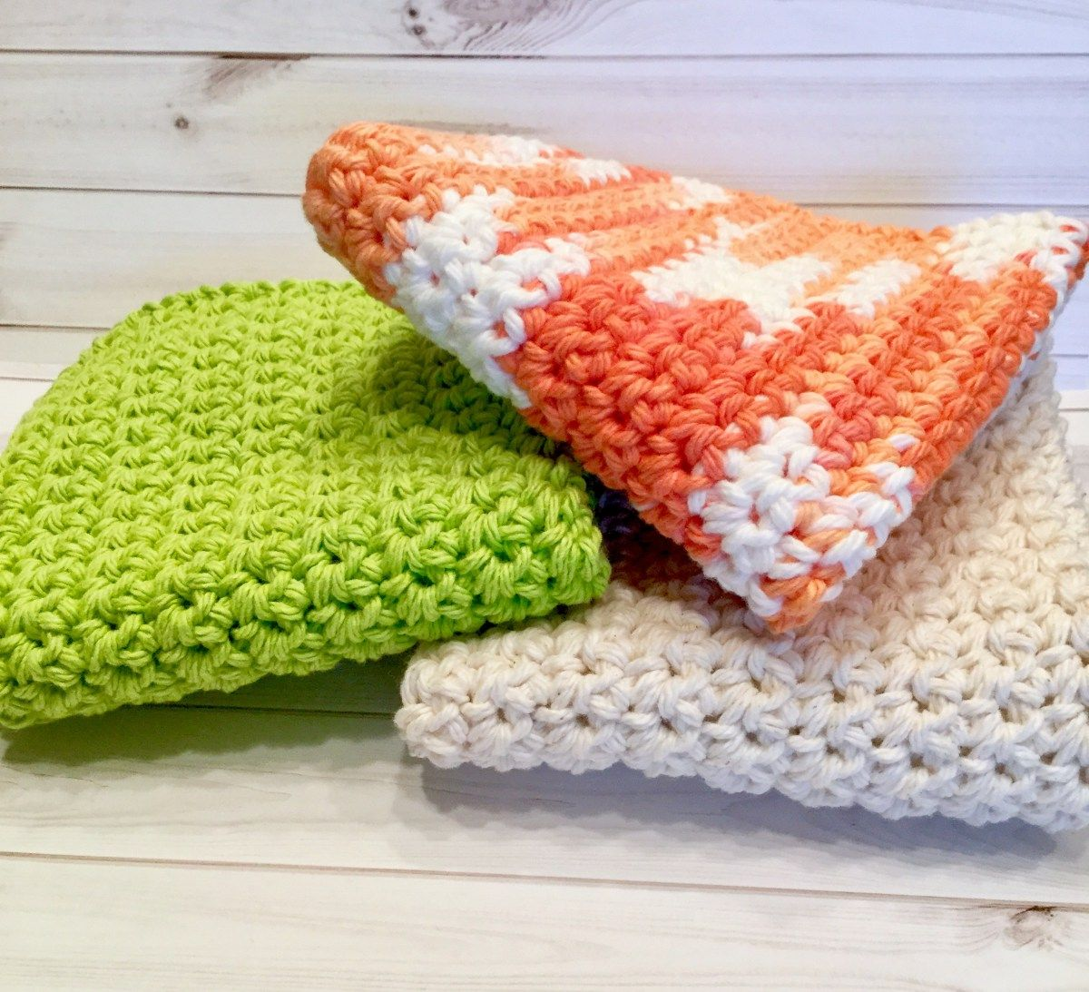 Crochet Washcloth Easy Free Pattern For Beginners My Hobby Is