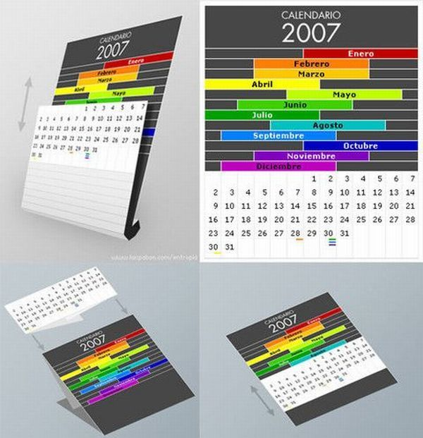 Very Creative And Very Unusual Calendar Designs 61 Pics