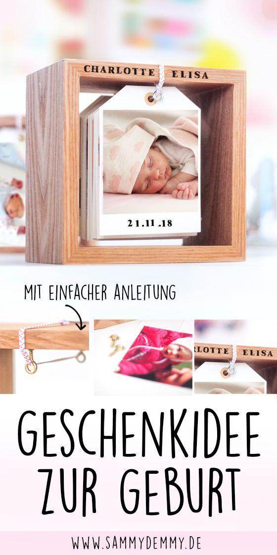 DIY Fotokalender im Holzrahmen: Bildlein, wechsel dich! #fotogeschenk