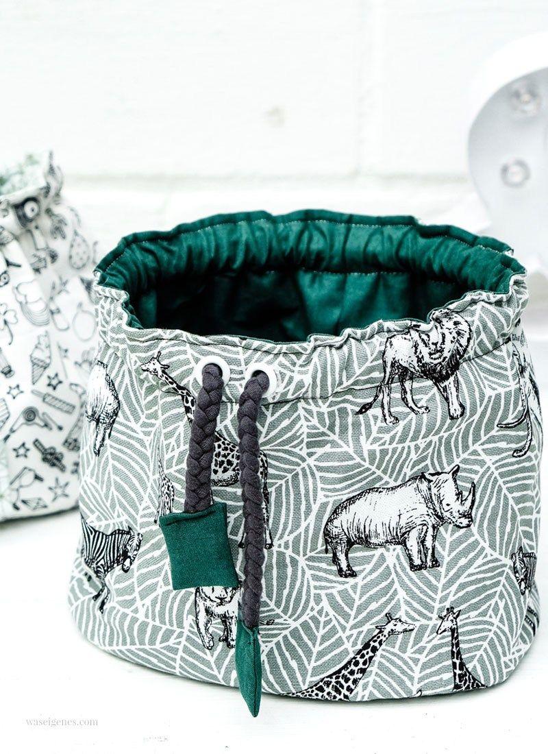 Instrucciones de costura: bolsa de tela Pompadour – fotos paso a paso