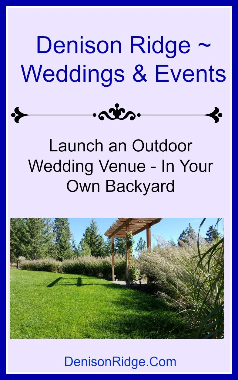 Have you ever wanted to start your own wedding venue? Take