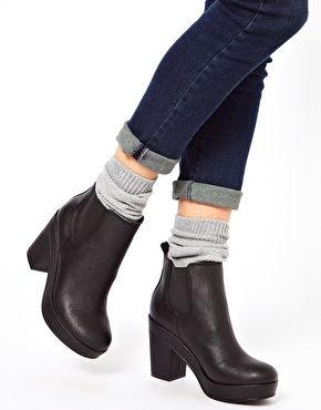 f5035fcd61 Image 3 of ASOS ATLANTA Chelsea Ankle Boots