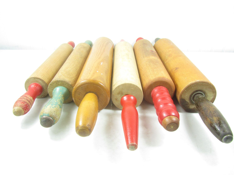 Vintage Rolling Pin, Dough Roller, Farmhouse Decor, Kitchen Decor, Antique  Rolling Pin