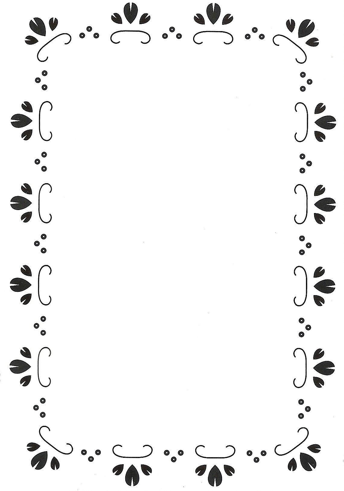Frame 1 scrapbooking pinterest marcos hoja y bordes for Bordes creativos