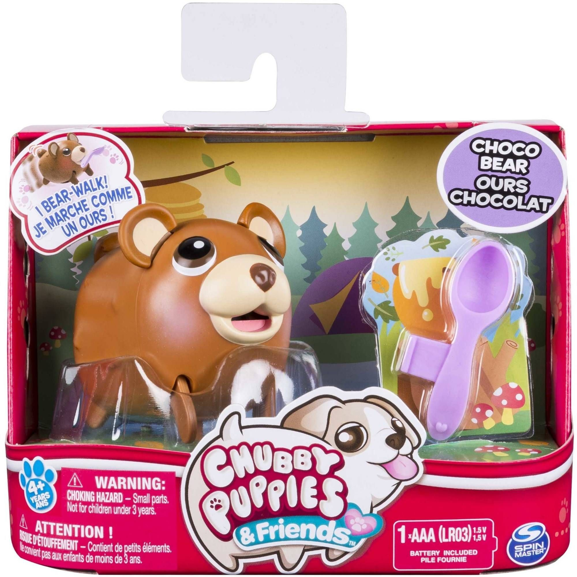 Chubby Puppies Friends Single Pack Choco Bear Styles May Vary