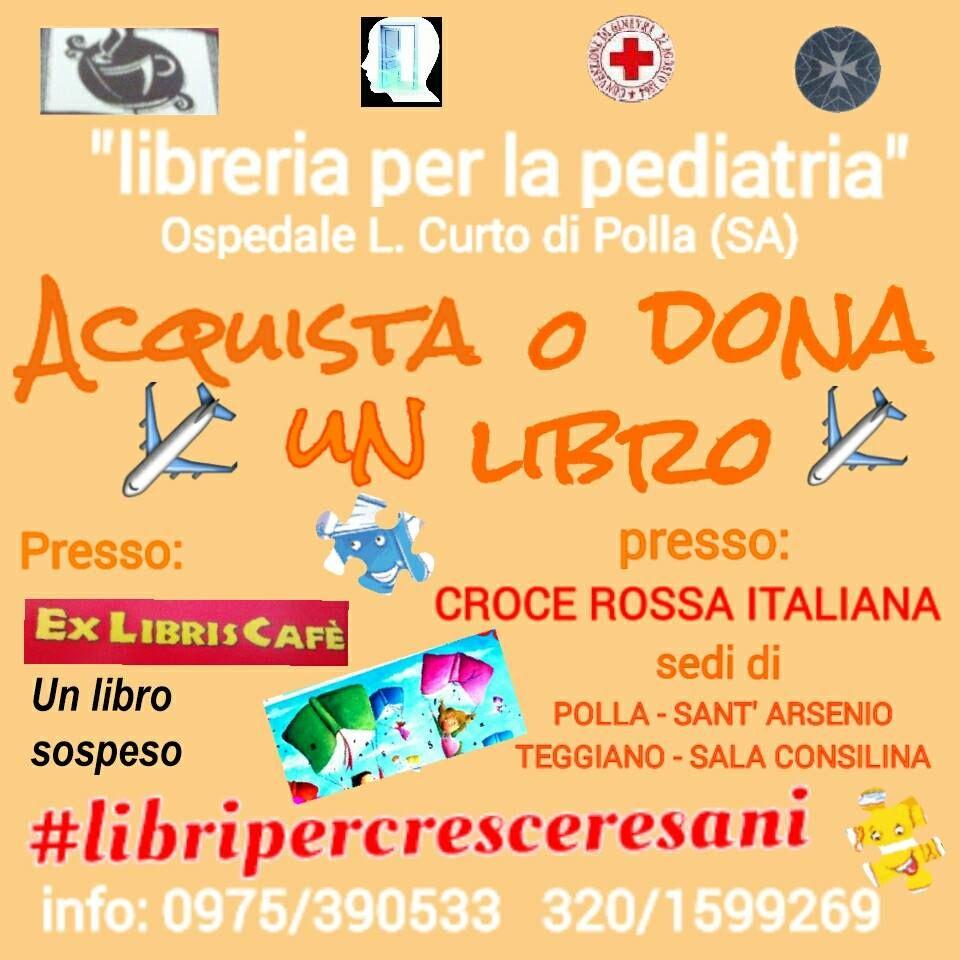 Un cammino affascinante ci porta al repartoPediatriaOsp.Polla GruppoApertamente @crocerossa Polla & @LibroSospeso