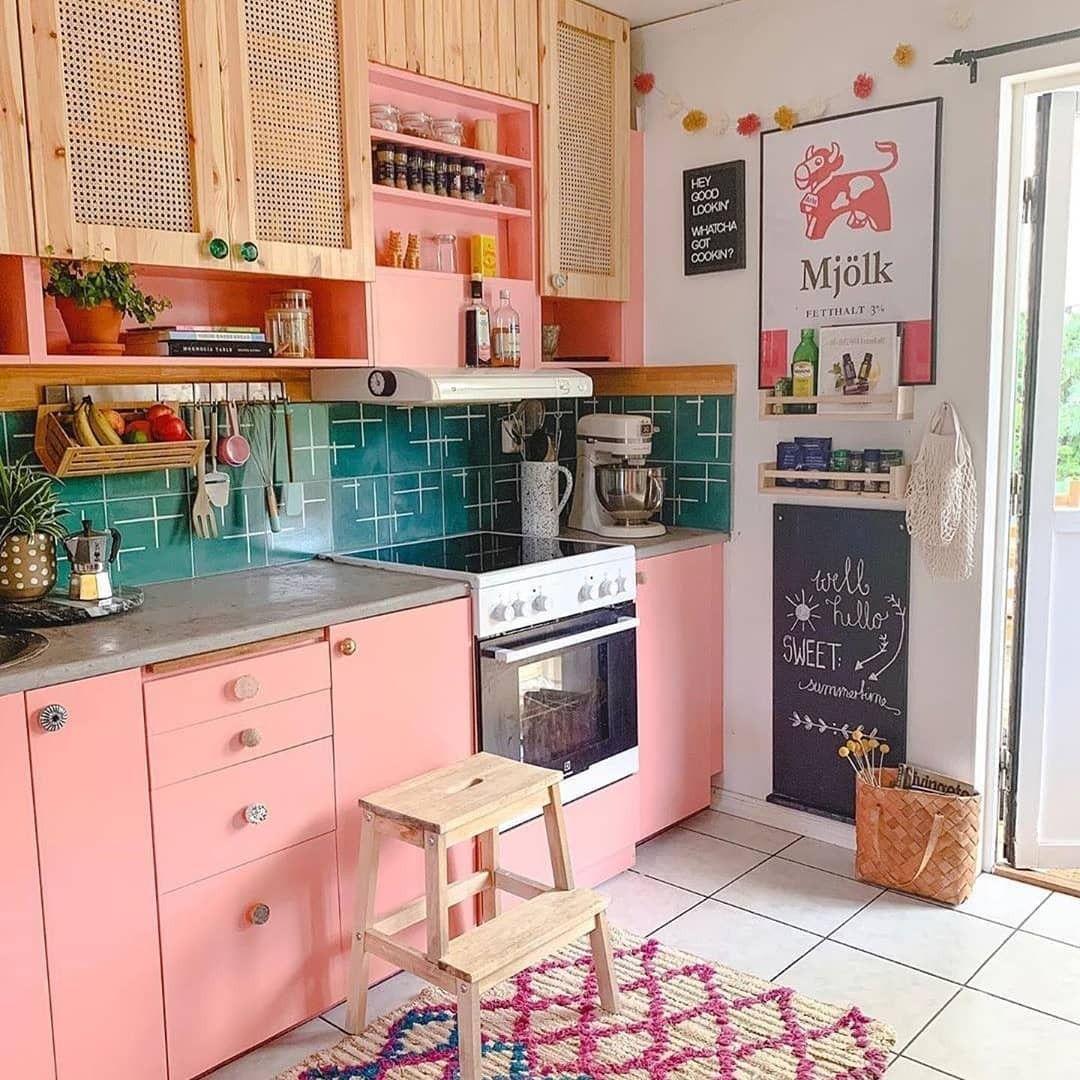 Modern Bohemian Kitchen Designs Kleurrijke Keukens Keuken Idee