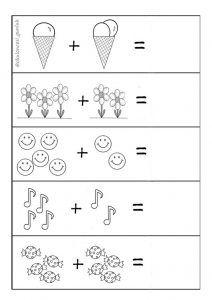 Okuloncesi Toplama Islemi Etkinlikleri Anaokulu Matematigi
