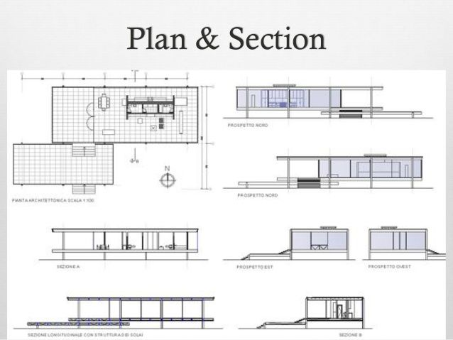 Picture in 2020 | Farnsworth house, Farnsworth house plan