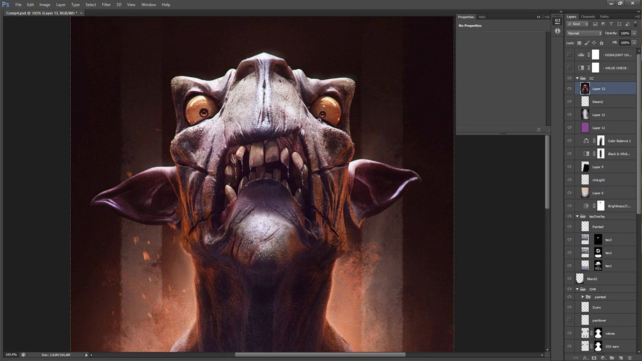 Improving your 3D renders in Photoshop on Vimeo