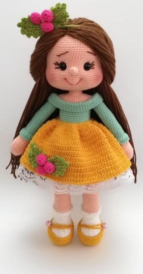 37+ Free Amigurumi Crochet Doll Pattern and Design ideas #bonecas