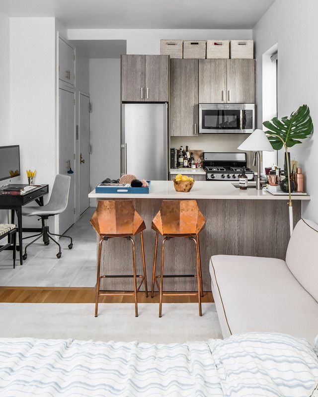 43 Extremely Creative Small Kitchen Design Ideas: I Lived In A 280-Square-Foot Apartment For A Year—This Is