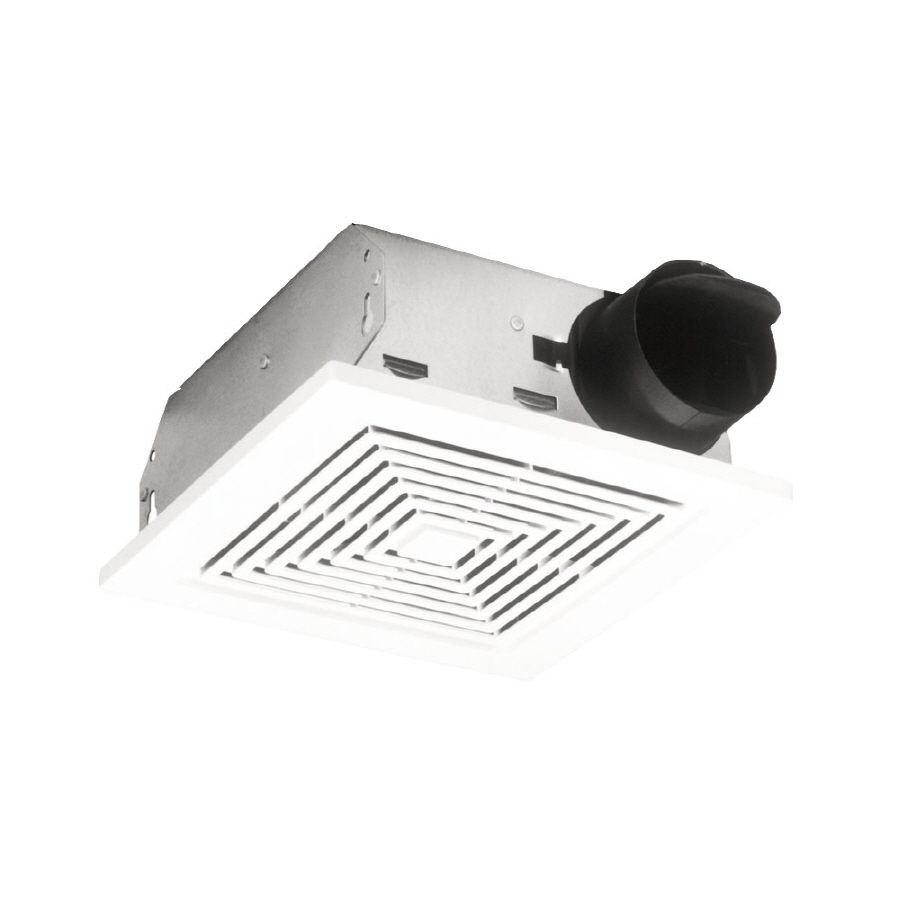 Broan 4 Sone 50 Cfm White Bathroom Fan