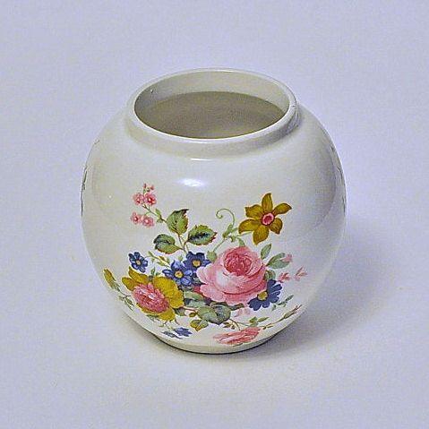 Floral Vase Jar Sadler England Sadler Everthing Vintage