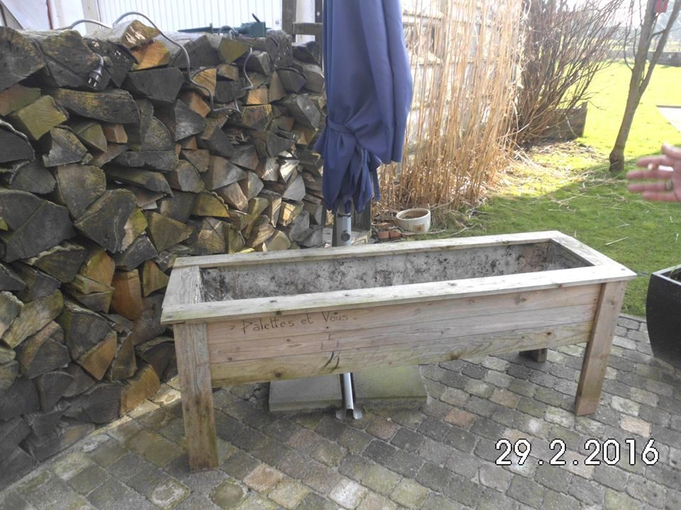 DIY Pallet Planters | Pallet Furniture DIY