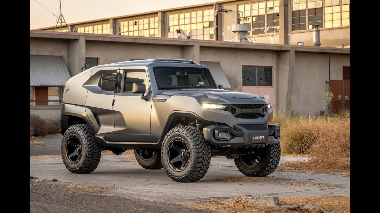 Rezvani Tank Is A 372 000 Serious Off Road Suv Heavily Modified