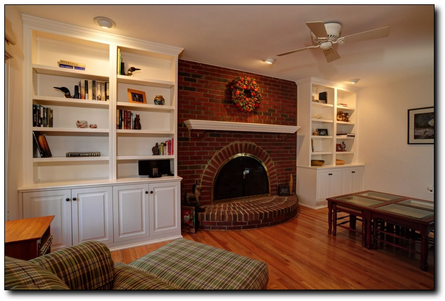 Exceptional Built In Cabinets Around Fireplace | Built Ins Surround A Fireplace #29