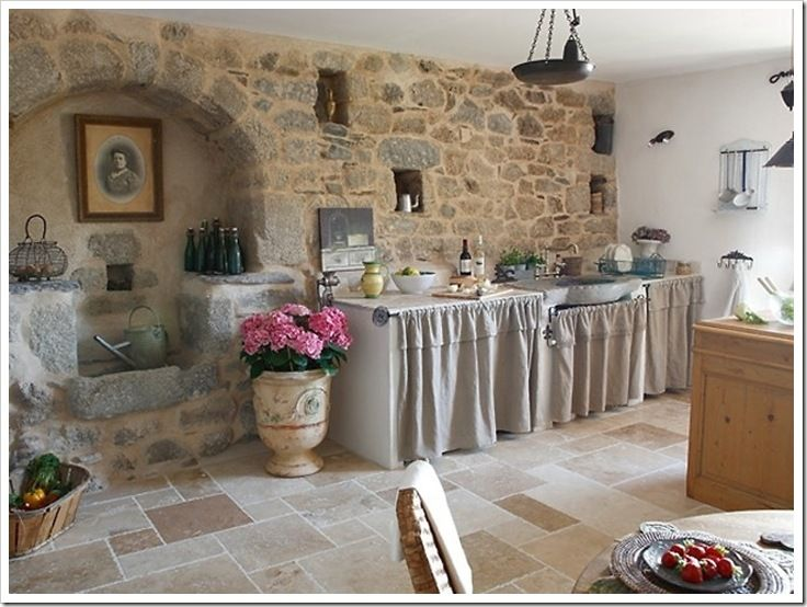 tendine per cucine in muratura - Cerca con Google | The Stone ...