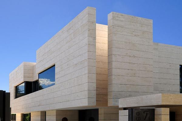 piedra para fachada exterior