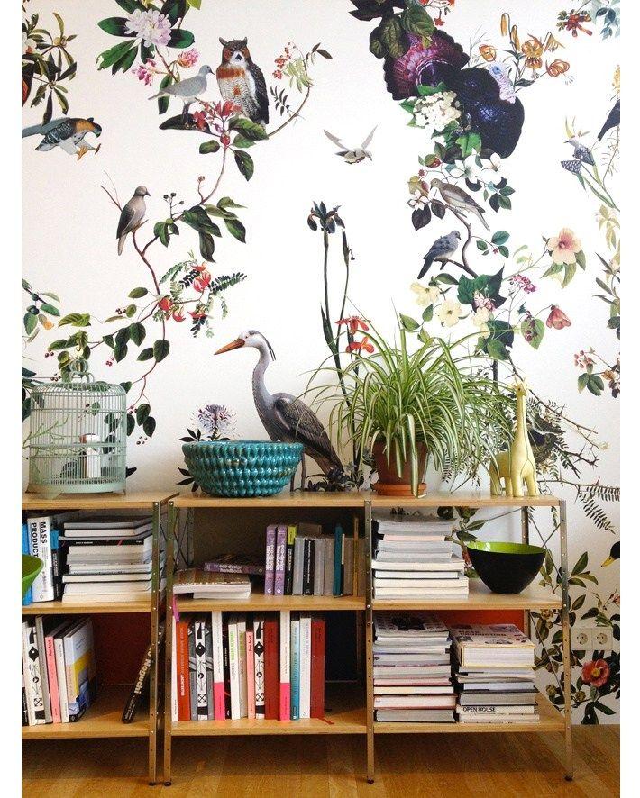 Envies déco #1- La tendance papier peint, entre floral et tropical ...