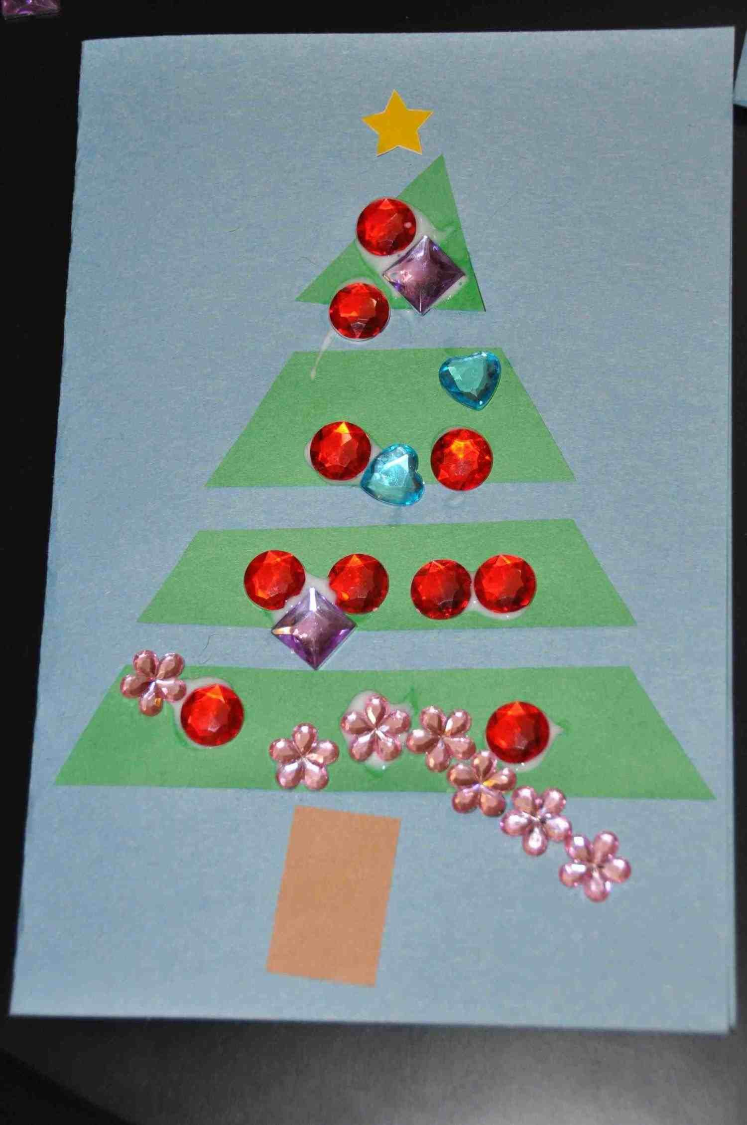 New Post christmas cards ideas for kids to make | xmast | Pinterest ...