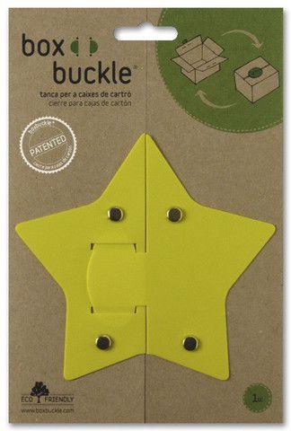 Estrella Boxbuckle Caja De Cartón Cajas Forma De Estrella