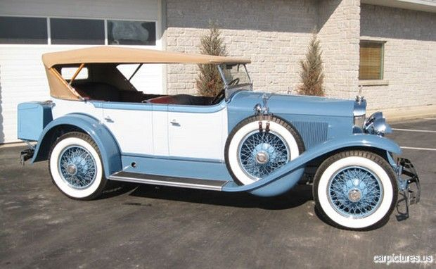 1928 LaSalle Sport Touring - (LaSalle brand marketed by General Motors Cadillac division, Detroit, Michigan (1927-1940)