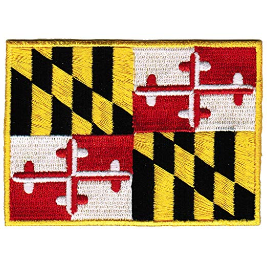 Pin By Macy On Make Maryland Flag Flag State Flags