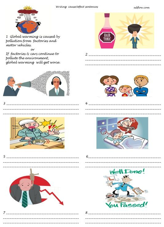 pictures for writing sentences Αναζήτηση google teaching  cause and effect essay stress cause effect sentence writing