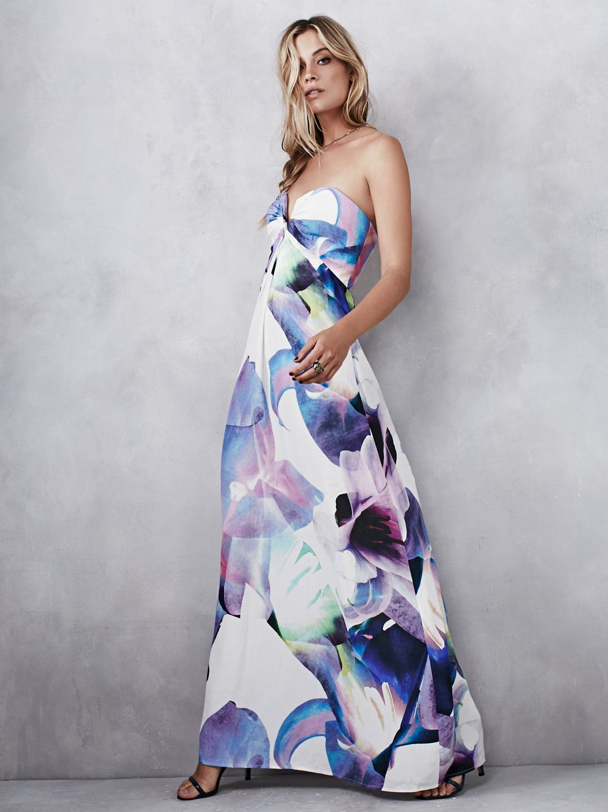 Calyx Maxi Dress | Maxi dresses, Strapless maxi and Bodice