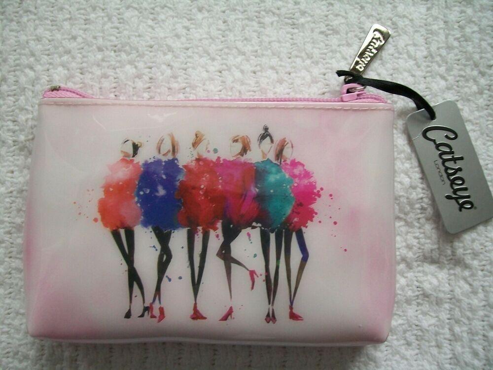 Catseye London Travel Zipper Cosmetic Makeup Bag Case Clutch Handbag Pouch Catseyelondon Makeup Bags Travel Makeup Bag Toiletry Pouch