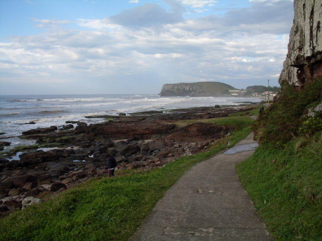 Caminho da Santinha e Praia da Cal.