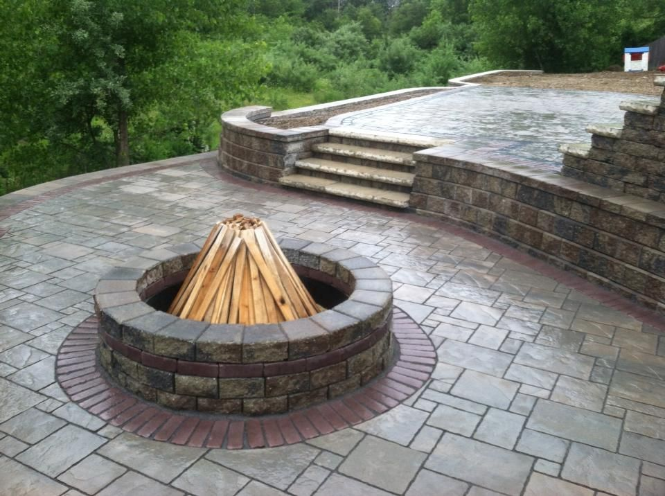 Nardelli Stone Works Avante Ashlar Paver With Roman Stack