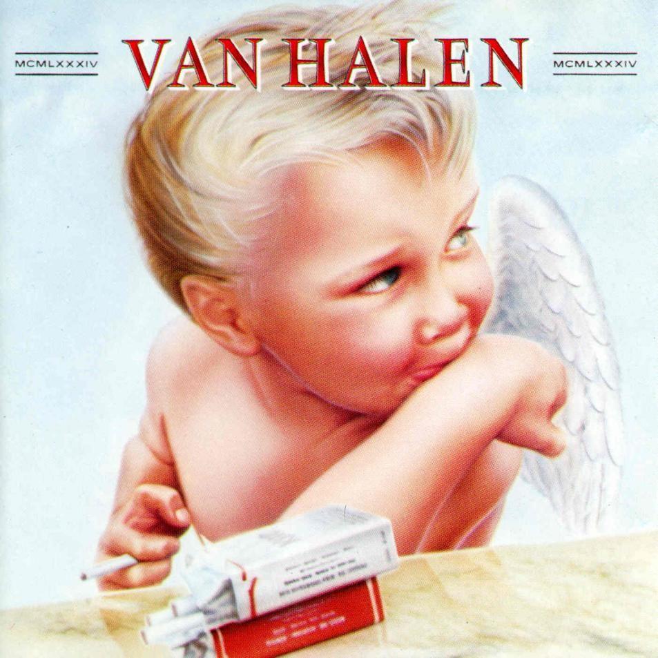 Van Halen 1984 Rock Album Covers Iconic Album Covers Music Album Covers