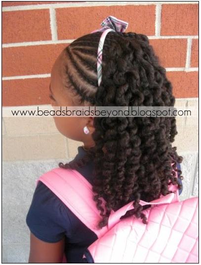 Little Girls Braiding Styles Naturally Beautiful Hair Update For
