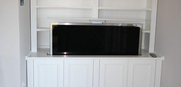 Schrank mit ausfahrbarem Fernseher TV Möbel, Hifi Pinterest - schlafzimmerschrank mit tv