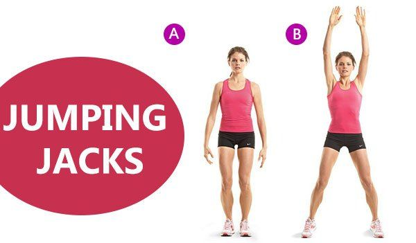 10 effective evening workout for weight loss with infographic Types of Jumping Jacks jumping jacks exercise 10 weight loss evening workout fat burning workout