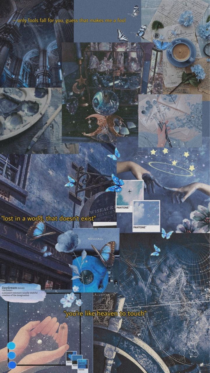 Image about blue in *❁⚬➴full collage ☘︎☽.• by ☾∗*❀