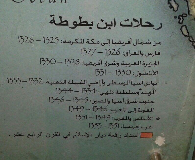 مدن ورحلات ابن بطوطة Scientist Scholar Ibn Battuta