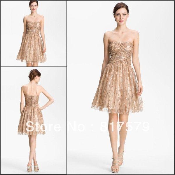 Champagne color dresses accessories