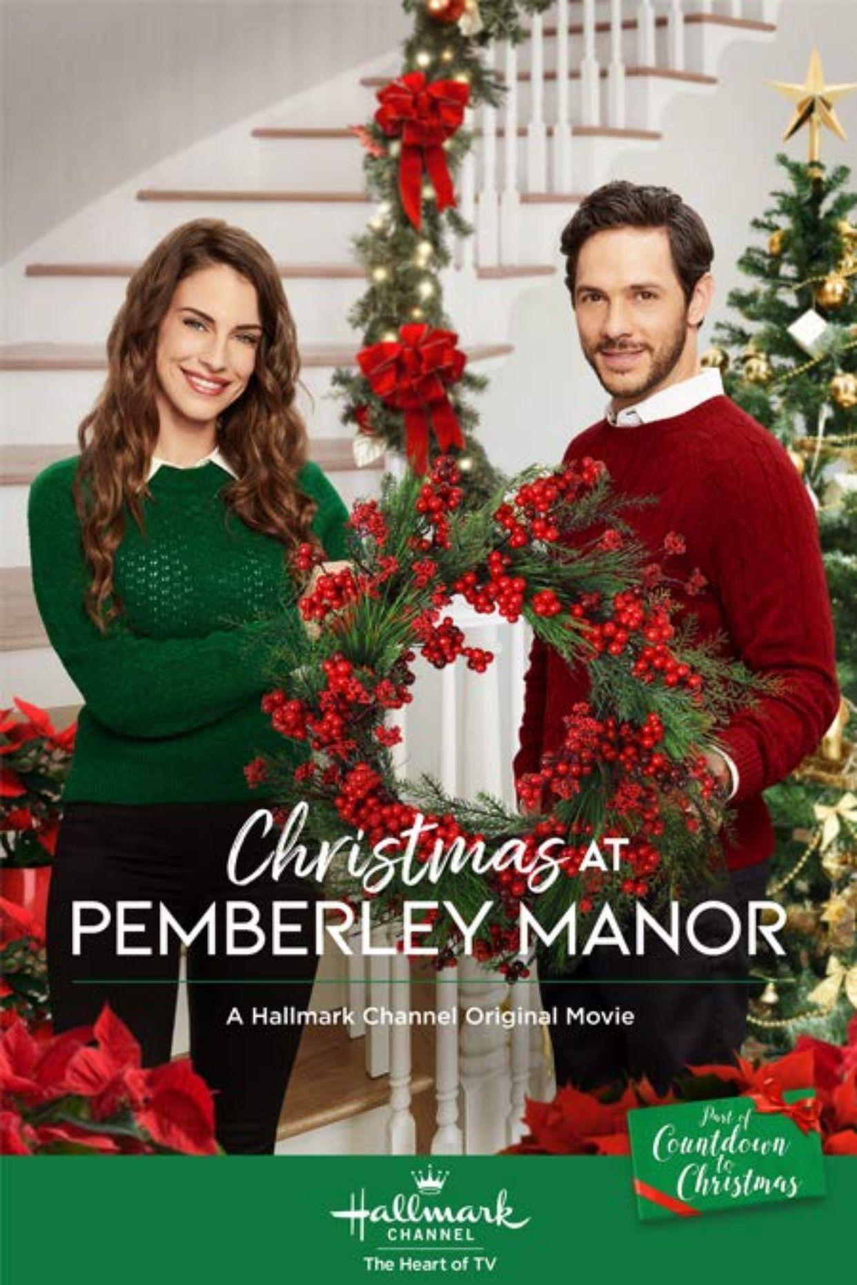 Countdown to Christmas 2018 | Christmas at Pemberley Manor Movie by ...
