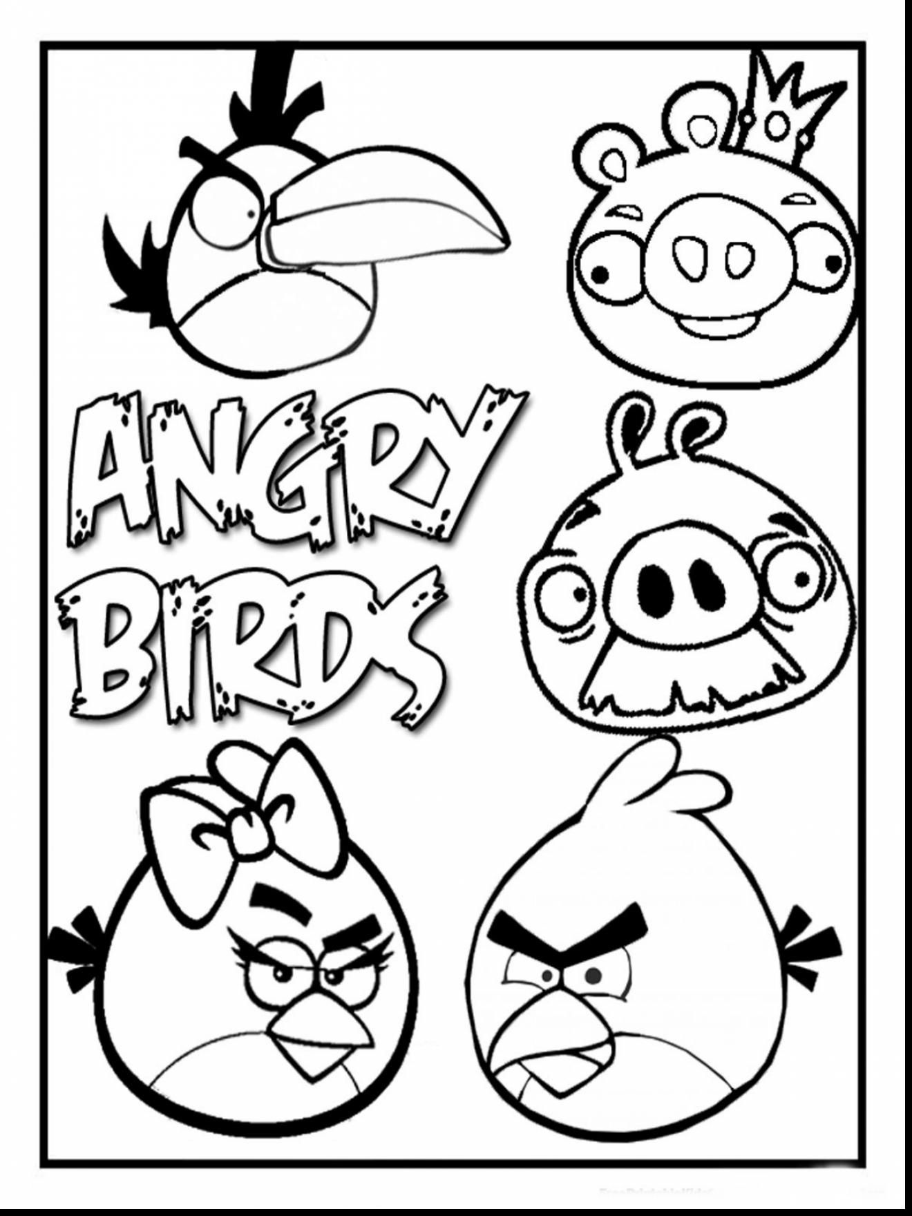 30 Coloring Pages Angry Birds Star Wars