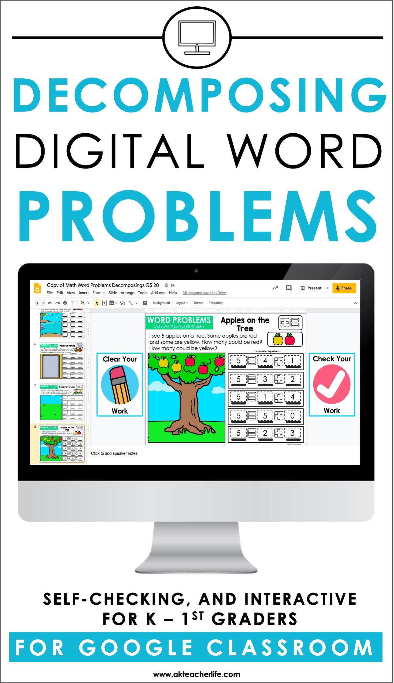 Decomposing Math Problems For Classroom