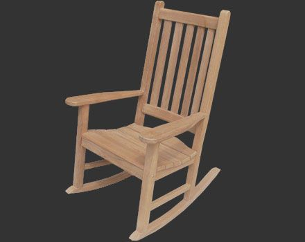 Granny Rocker 42 Quot High And Only 32 Quot D Outdoor Lounge