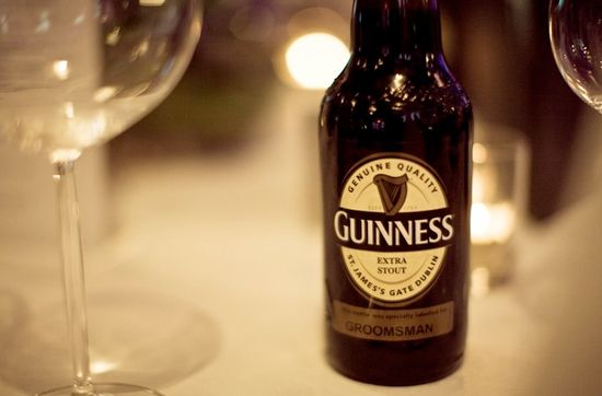 Guinness Storehouse Offer A Unique Wedding Venue In Dublin Personalised Bottles For Your Guests