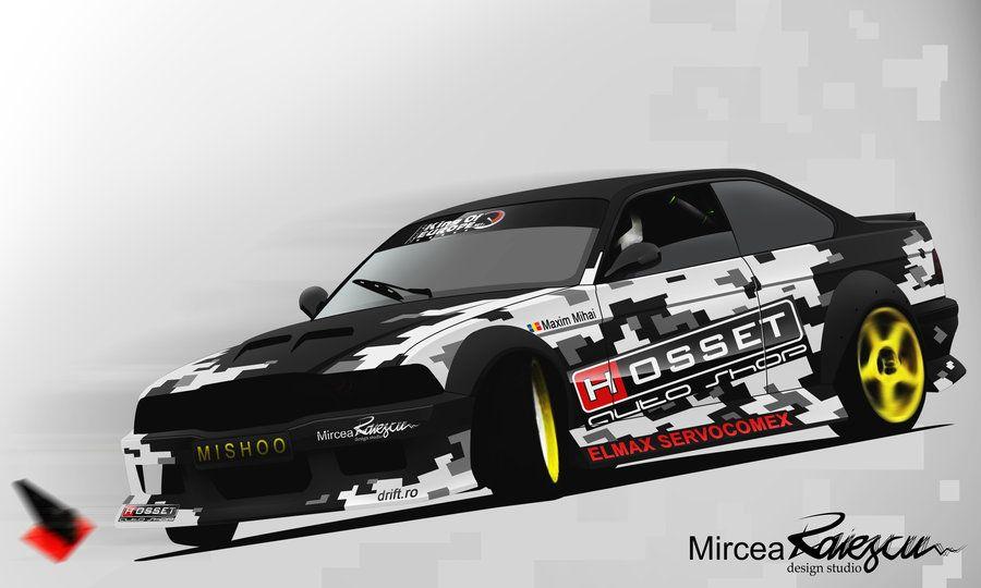 E36 Coupe Pixel Camo Livery By Nolimitsdesign With Images Camo